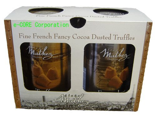 MATHEZ マセズ フレンチ トリュフチョコレート(ファンシートリュフ) 500gx2缶