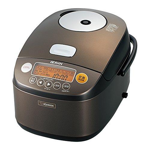 Zojirushi IH Pressure Rice cooker Iron coat platinum Atsukama 1 bushel dark brown NP-BE18-TD (Zojirushi Platinum Rice Cooker compare prices)