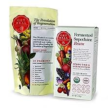 buy Fermented Superjuice Brain - 120 Grams - Get Real Nutrition By Jordan Rubin - Purple Maize - Blueberry - Beet - Purple Carrot