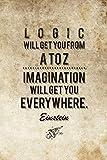 Canvas Champ Einstein Logic (Small) Poster