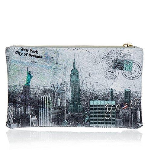 Y NOT? - Borsa da donna pochette f-341 new york city of dreams
