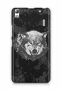 YuBingo The Wolf Designer Mobile Case Back Cover for Lenovo A7000