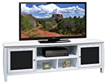 Hot Sale Legends Curve 76 in. TV Console - White