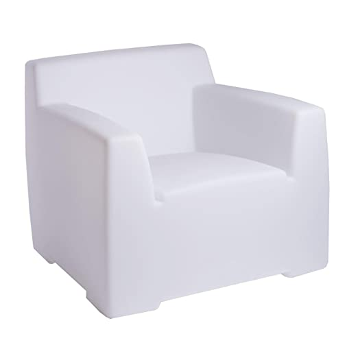 InOut 101 L Lighting Outdoor Lounge Armchair translucent
