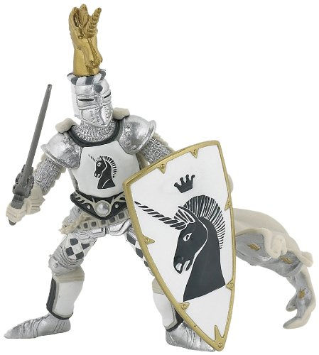 Knight Unicorn Silver