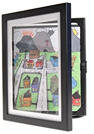 Child Artwork Frame – Display Cabinet…