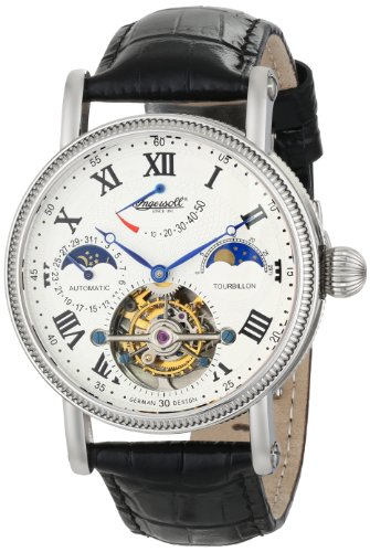 Ingersoll-Mens-IN5101WH-Sonoma-Tourbillon-Stainless-Steel-Automatic-Watch-with-Black-Leather-Band