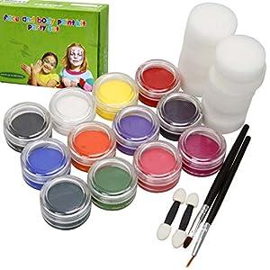 bmc kids party activity sponge brush craft. Black Bedroom Furniture Sets. Home Design Ideas