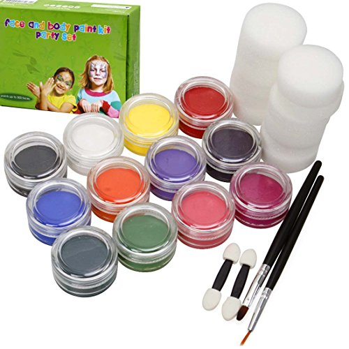 bmc-kids-party-activity-sponge-brush-craft-hobby-fun-face-body-art-skin-non-toxic-paint-applicator-s