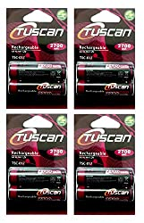Tuscan 4 Packs of 8 pieces 2700mah AA 1.2V, Rechargeable Ni-Mh Batteries 2700 mAh AA Size