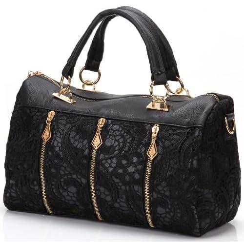 ANDI ROSE Ladies Designer PU Leather Tote Handbags Purses Shoulder Clutch Hobo Bag