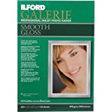 Ilford Galerie Smooth Gloss Inkjet 13 x 19 Photo Paper, 25 Sheets
