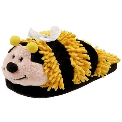 Amazon.com: Fuzzy Friends Women's Bumble Bee Slipper ...