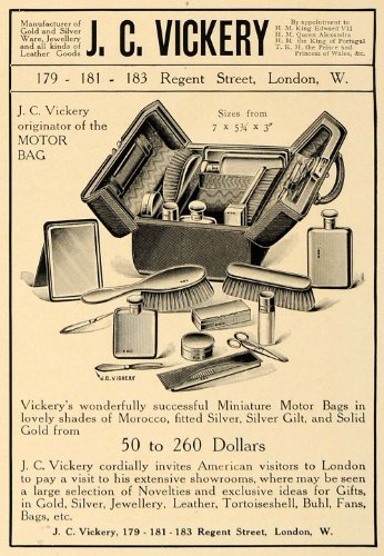 1907-ad-jc-vickery-miniature-motor-bag-sizes-pricing-original-print-ad