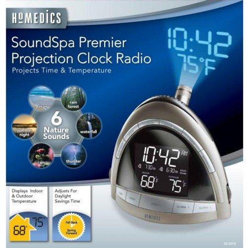 homedic alarm clock with sound machine