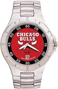 Chicago Bulls Mens Pro II Watch by Logo Art