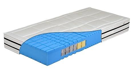 """NEU 7 Zonen Kaltschaum Matratze """"Cube Premium"""" - speziell fur Seitenschläfer - Raumgewicht 60 !! H3 = fest"""