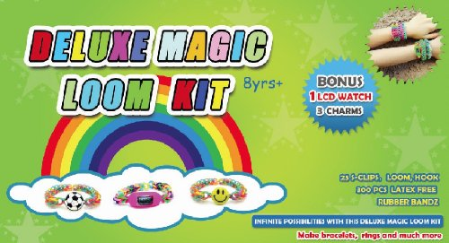 deluxe magic Loom kit with LCD watch