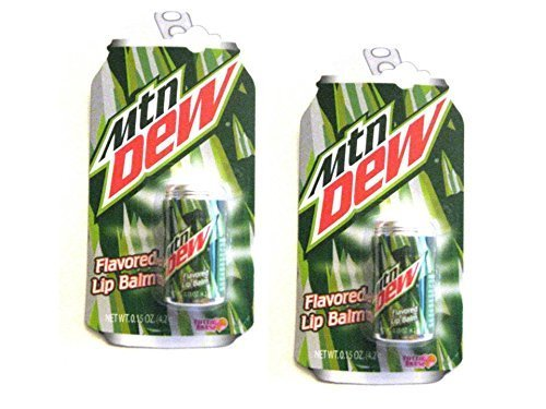 mountain-dew-flavored-lip-balm-in-a-replica-can-015oz-42g-each-2-pack-by-pepsi