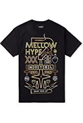 Odd Future Men's Mellow Motel T-shirt Medium Black