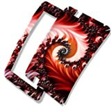 Abstract 10071, Sticker for Kindle Fire HD 7, 1st Generation 2012 Ebook-Reader.