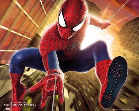 spiderman-mini-poster-the-amazing-spiderman-2-accessoires-de-fixation-swing-pas-de-cadre