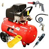 Rhyas 50L 50Litre Air Compressor 2.5HP + FREE Air Body Saw Kit 9.5cfm 115psi