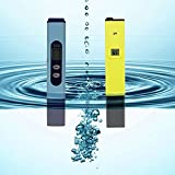HAITRAL® TDS Tester 0-9999 PPM + Digital PH Meter + FREE PH Test Strips Aquarium Pool Hydroponic Water Monitor