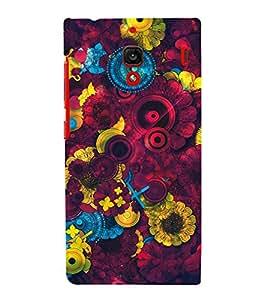 printtech Awesome Design Floral Pattern Back Case Cover for Xiaomi Redmi 1S::Xiaomi Redmi (1st Gen)
