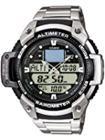 Casio SGW-400HD-1BVER Men's  Bracelet Combi Watch
