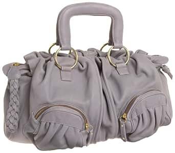 BULGA Le Tresse Medium Satchel, Black, one size: Handbags: Amazon.com