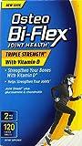 Osteo Bi-Flex Triple Strength with Vitamin D Nutritional Supplement, 120 Count