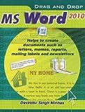 Davinder Singh Minhas Drag & Drop MS Word 2010