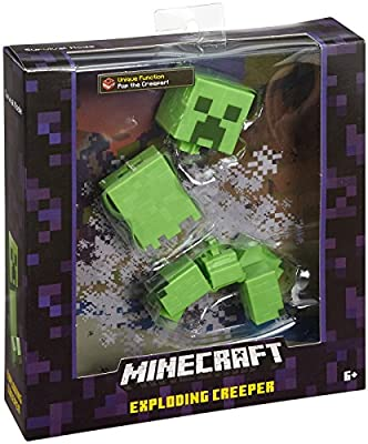 "Minecraft Exploding Creeper 5"" Figure from Mattel"