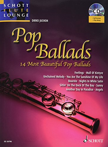 Pop Ballads +CD --- Flûte / Piano