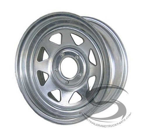 51pV%2BIXzHTL 13 x 4.5 Galvanized Steel Spoke Trailer Wheel 5 Lug