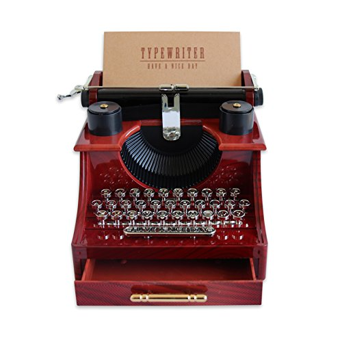 Alytimes Vintage Typewriter Music Box for Home/Office/Study Room Décor Decoration 5