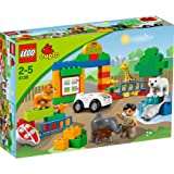 Refined LEGO® DUPLO My First Zoo - 6136 with accompanying Lego HSB Storage Bag