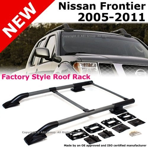 (click Photo To Check Price). 5. Nissan Frontier 2005 To 2011 Silver Roof  Top Rack ...