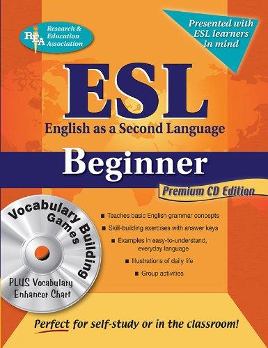 Esl Beginner With Vocab Builder & Vocab Enhancer W/Cd-Rom (English As A Second Language Series)