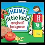 Heinz Little Kidz Spaghetti Bolognese Tray 12-24 Months 230 g (Pack of 4)
