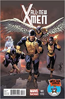 All New X-Men #1 Mile High Comics Variant: Bendis: Amazon.com: Books