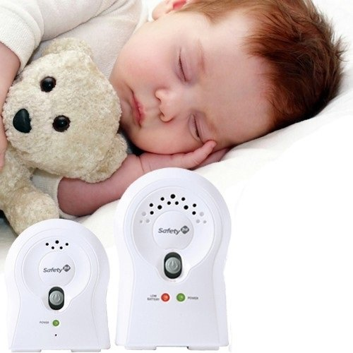 Safety 1st Crystal Clear Audio Monitor (2 RX), White Color: White Size: 2 RX NewBorn, Kid, Child, Childern, Infant, Baby