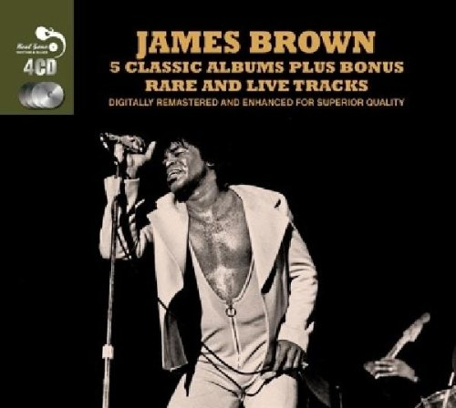 James Brown-5 Classic Albums Plus Bonus Rare and Live Tracks-4CD-2014-0MNi Download