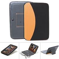 GreatShield LEAN Series Ultra Slim Leather Case With Bluetooth Keyboard For The Google Nexus 10 Tablet (Black...