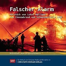 Falscher Alarm: Hörstück von Lukas Holliger zum Chemiebrand von Schweizerhalle 1986 Hörbuch von Lukas Holliger Gesprochen von: Lukas Holliger