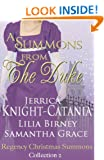 A Summons From the Duke (Regency Christmas Summons Book 2)