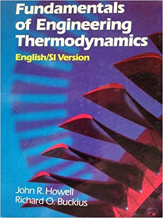 Fundamentals of Engineering Thermodynamics: English/Si Version/With Diskette