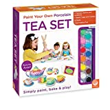 Mindware Paint Your Own Porcelain Tea Set, Multi Color