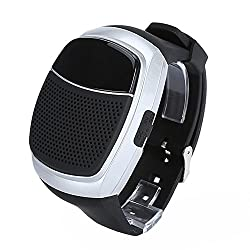 3Keys Bluetooth Sports Music Watch Portable Mini MP3 Music Bluetooth Watch Speaker TF FM Audio Radio Handsfree Speaker